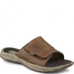 6bee9caf2bf3 STS10770 Sperry Men s Outer Banks Slide Sandals - Dark Brown