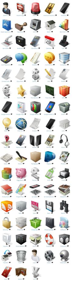 Download Free E-Commerce Icons Best Collection of 2014. This list can make your E-Commerce website project more awesome.