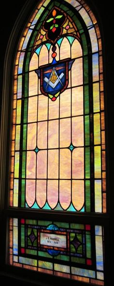 Stained Glass Repair & New Protective Covering at Fair Bluff Baptist Church in Fair Bluff, NC