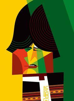 Evo Morales, by Pablo Lobato [Caricaturas]