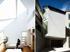 atelier tekuto frames the sky within tokyo residence