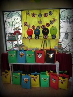 my Angry Birds Candy Station Angry Birds, Candy, Birthday, Kids, Young Children, Birthdays, Boys, Children, Sweets