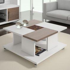 Không gian hoàn toàn lột xác với mẫu bàn trà phòng khách ấn tượng