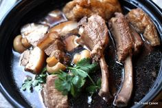 The Food Canon - Inspiring Home Cooks: Auntie Ruby's Bak Kut Teh