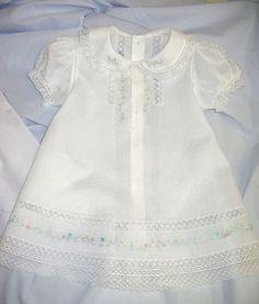 2edb3d689 Ms. Dot s White Nelona Embroidered Baby Dress (Old. Fash. Baby) Traje