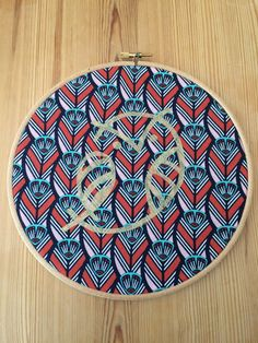 Owl Embroidery Hoop Picture by HandmadebyHolchester on Etsy
