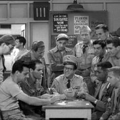 Ernie Bilko -- the ORIGINAL Con-Man who could fast-talk his way out of ANY situation. A must for politicians in training. Mchale's Navy, Old Shows, Comedy Tv, Vintage Tv, Tv Actors, Teenage Years, Old Tv, Classic Tv, The Good Old Days
