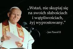 Podobny obraz Poetry Quotes, Book Quotes, Life Quotes, Cool Words, Wise Words, St John Paul Ii, Positive Vibes Only, God Loves You, Good Thoughts