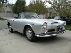 1966 alfa romeo 2600 spider. available for sale at goodmanreed