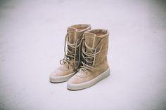 079c3678f Yeezy Season 2 Crepe Boot Size EU 47  US 14 Adidas Boost 350 750 ...