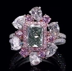 Rosamaria G Frangini | High Pink Jewellery | Dehres. - ABSOLUTELY EXQUISITE!! - LOVE THE PINK!!