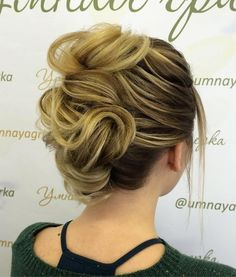 Messy+French+Roll+Updo