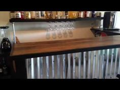 """Pallet Bar """"Tutorial"""" For Less Than $200! - YouTube"""