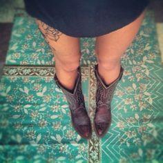 I want an upper thigh tattoo...