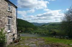 View from Bron-Yr-Aur cottage