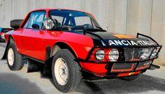 1971 Lancia Fulvia Coupe ready for the raid.