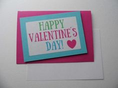 #Valentines day cute card #gift #heart