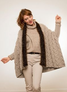 Wooling Issue 2 - #01 Jacket with fur collar