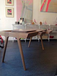 METIS desk design by Gonçalo Campos for WEWOOD @ PAU Design Container