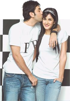 Katrina Kaif with Ranbir Kapoor #Style #Bollywood #Fashion #Beauty