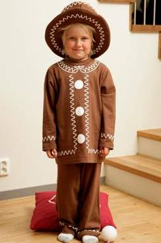 gingerbread man costume - cute hat