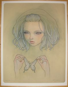 Audrey Kawasaki Paintings.
