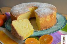 Chiffon cake ai mandaranci