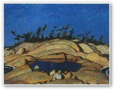 Night Pine Island by A.Y. Jackson