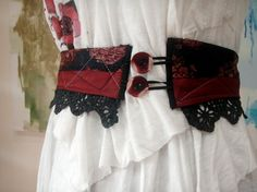 womens clothing upcycle  sewing ideas | lace and upcycled silk neckties – Sewing Projects | BurdaStyle.com