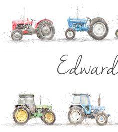 Farm Nursery, Themed Nursery, Nursery Themes, Nursery Prints, Nursery Room, Nursery Wall Art, Highland Cow Painting, Highland Cow Print, Vintage Nursery Decor