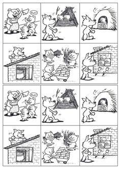 Thème : les 3 petits cochons