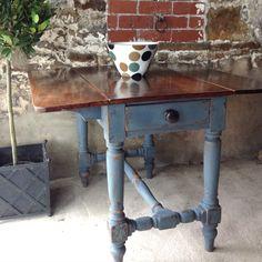 Sold - Antique Pembroke Table www.sallywhitedesigns.com