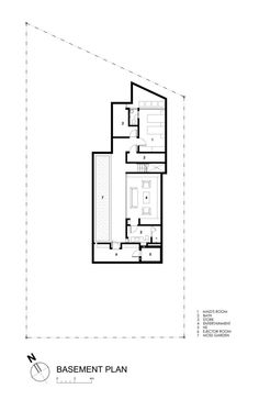 Travertine House-Basemant Plan