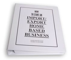 Starting An Import Export Business