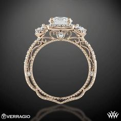 Verragio Triple Halo 3 Stone Engagement Ring | We Know How To Do It