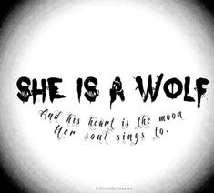 She is a wolf and his heart is the moon her soul sings to. - She is a wolf and his heart is the moon her soul sings to. Lone Wolf Quotes, Moon Quotes, Wolf Qoutes, You Are My Moon, Under Your Spell, Applis Photo, Wolf Love, Wolf Spirit, Spirit Animal