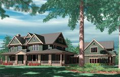 Plan 69078AM: Farmhouse With Lots of Amenities