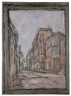 Alberto Giacometti, The Street, 1952 Alberto Giacometti, Figure Painting, Painting & Drawing, Figure Drawing, Giacometti Paintings, Statues, Italian Paintings, A Level Art, Art Sketchbook
