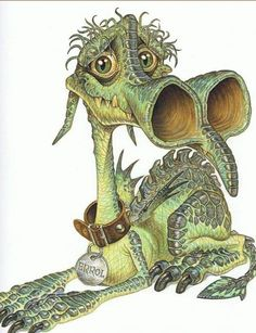 By Paul Kidby Dragon Hatchling Egg Baby Babies Cute Funny Humor Fantasy Myth Mythical Mystical Legend Dragons Wings Sword Sorcery Magic Art Whimsy Whimsical Fantasy Dragon, Dragon Art, Fantasy Art, Fantasy Films, Terry Pratchett Discworld, Discworld Map, Discworld Characters, Science Fiction, Cute Dragons