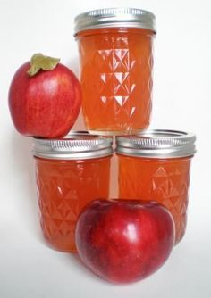 """Apple Core & Peeling Jelly: """"This is a wonderful jelly. What a great way to use up the apple peels and cores."""" -MommaWeb5ter"""