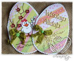 Kartki Wielkanocne 2013 pastelowe