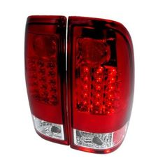 Spec-D Tuning LT-F15097RLED-TM LED Tail Lights for 97 to 03 Ford F150, 11 x 20 x 22 in., As Shown