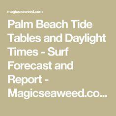 palm beach tide chart