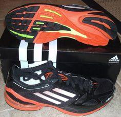 NEW ADIDAS ADIZERO F50 2 Running MENS Black NIB professional lightweight LTD NR #adidas #RunningCrossTraining