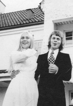 Agnetha and Bjorn got married on July 6th, 1971 on the island of Verum.