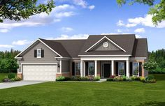 Retirement Communities in Atlanta, GA | Bluffton Cottage Floor plan | Del Webb homes