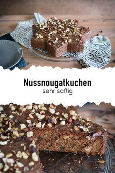 Alle die Nutella mögen werden diesen Kuchen lieben, denn es ist ein sehr saftiger Nussnougatkuchen. Egal ob für einen Kindergeburstrag oder zum Nachmittags-Kaffee, der Kuchen schmeckt immer! 🍫 #sallyswelt #sallys #sallysweltrezept #rezept #recipe #nussnougatkuchen #nusskuchenrezept #nougatkuchenrezept #nussnougattorte #nusskuchensaftiger #nusstorterezept #nougattorte #nougatcremefürkuchen #kuchenrezepteeinfach #kuchenrezepteschnell #kuchensaftig #schokoladenkuchen #cakerecipe #cakerecipesimple Nougat Torte, Nutella, Cereal, Xmas, Breakfast, Sally, Desserts, Recipes, Food