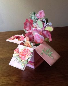 Card in a Box - by Marye