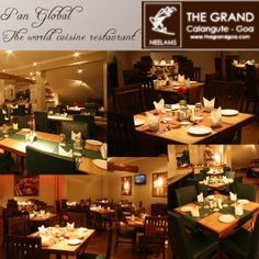An exclusive fine dining a'la carte restaurant serving world cuisine by Neelam's The Grand!