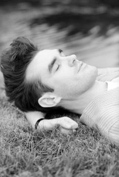 Morrissey on the grass